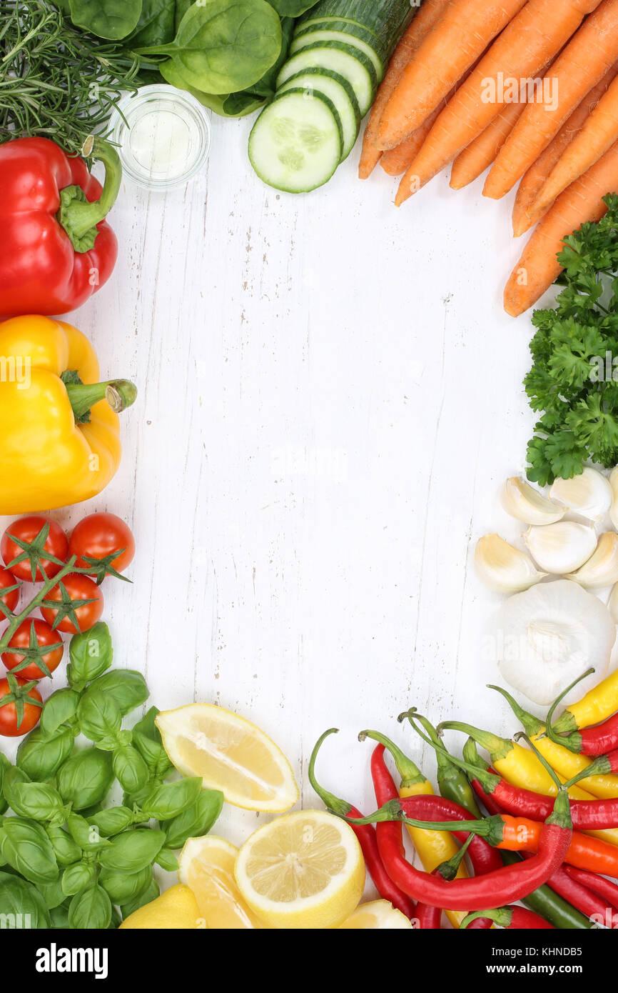 Gem se sammlung tomaten karotten zutaten zum kochen hochformat hintergrund draufsicht von oben - Karotten kochen ...