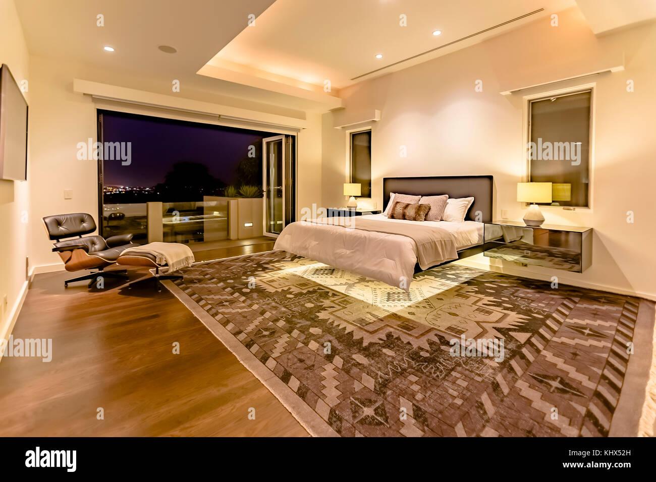 Leuchten Schlafzimmer Luxus california Home im Obergeschoss ...