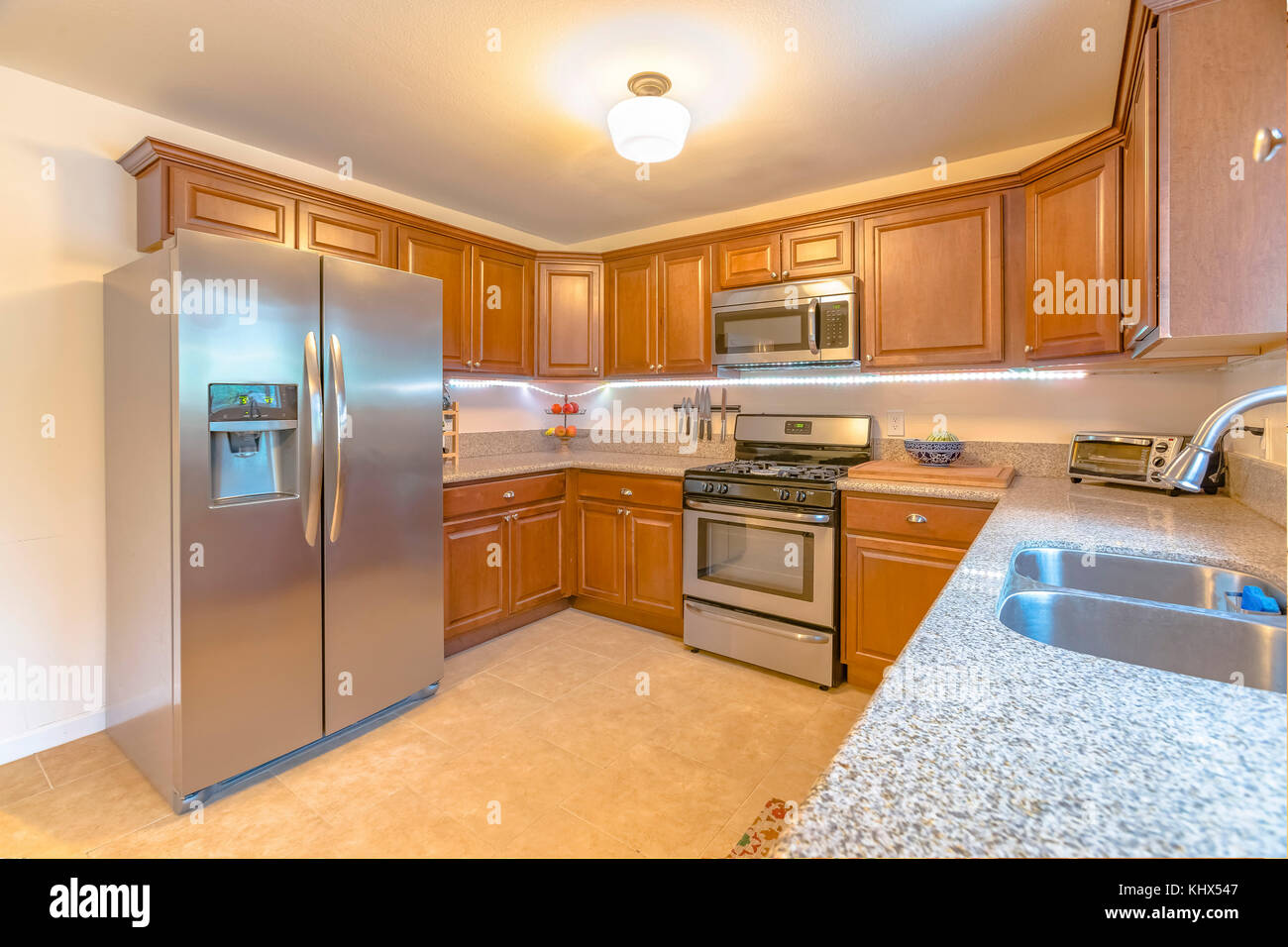 Granite Counter Tops Stockfotos & Granite Counter Tops Bilder - Alamy