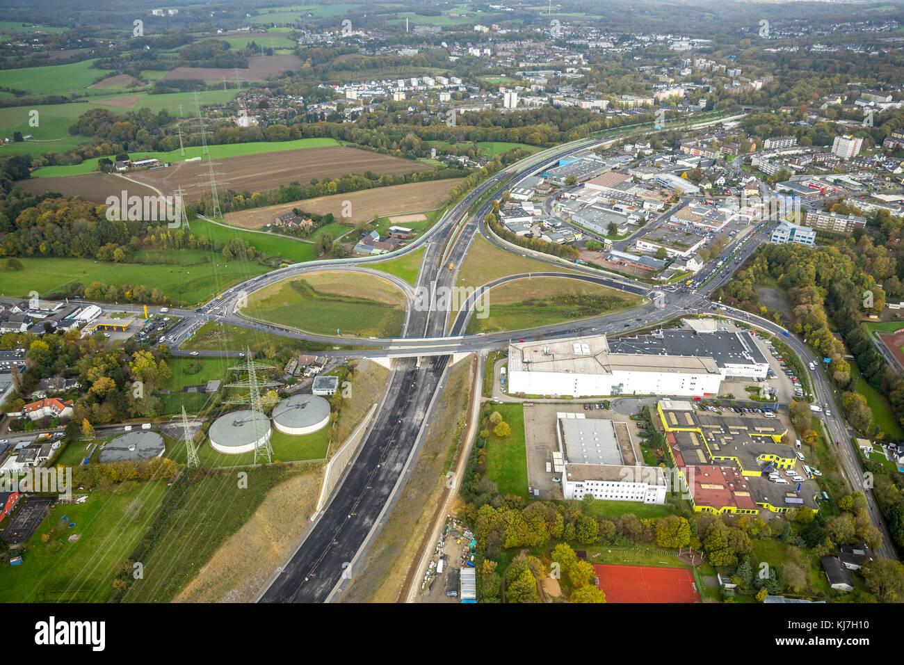 Rehmann Velbert autobahn a44 baustelle zwischen heiligenhaus und velbert kreuzung