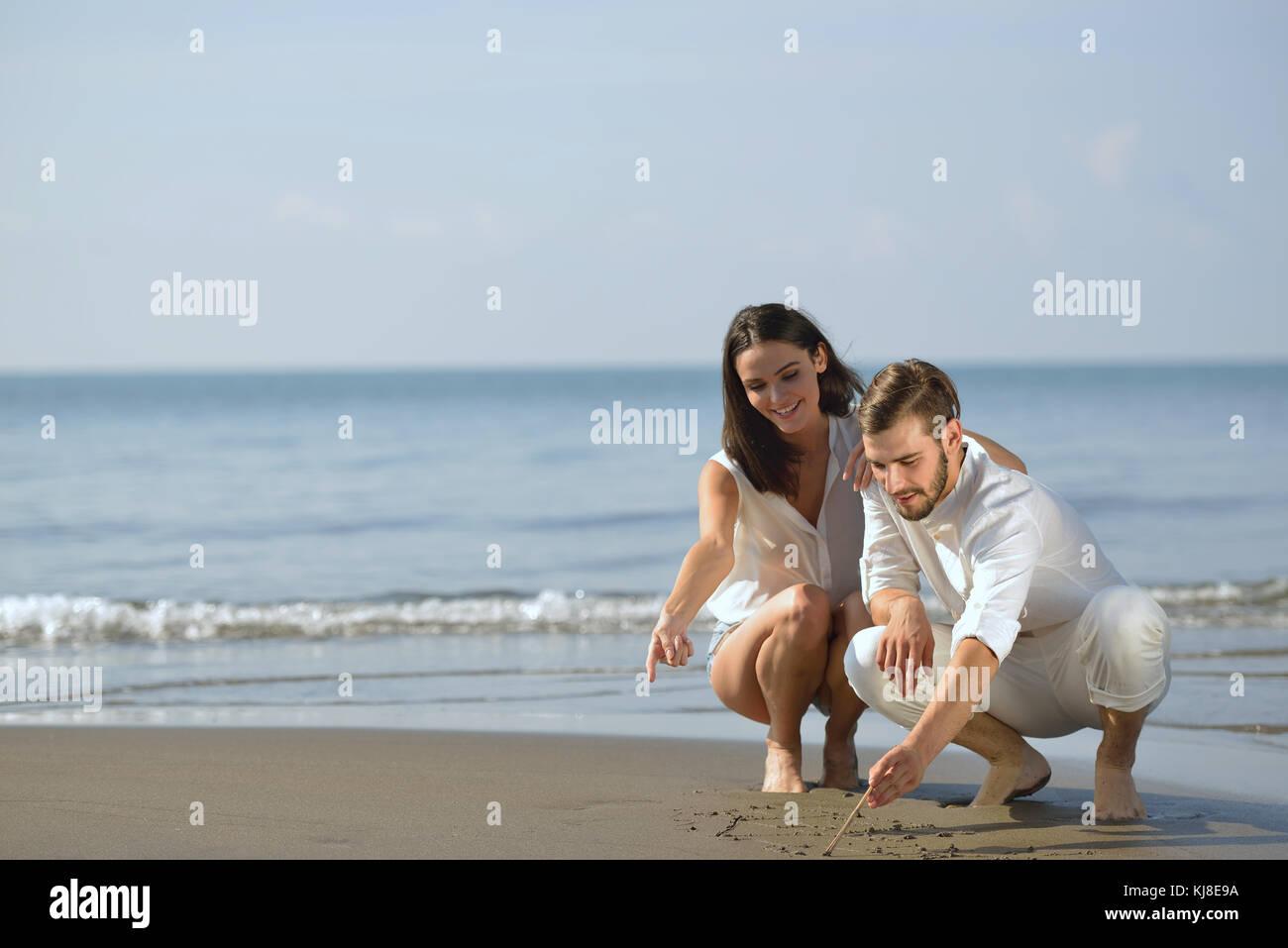 die Flitterwochen in einer Beziehung