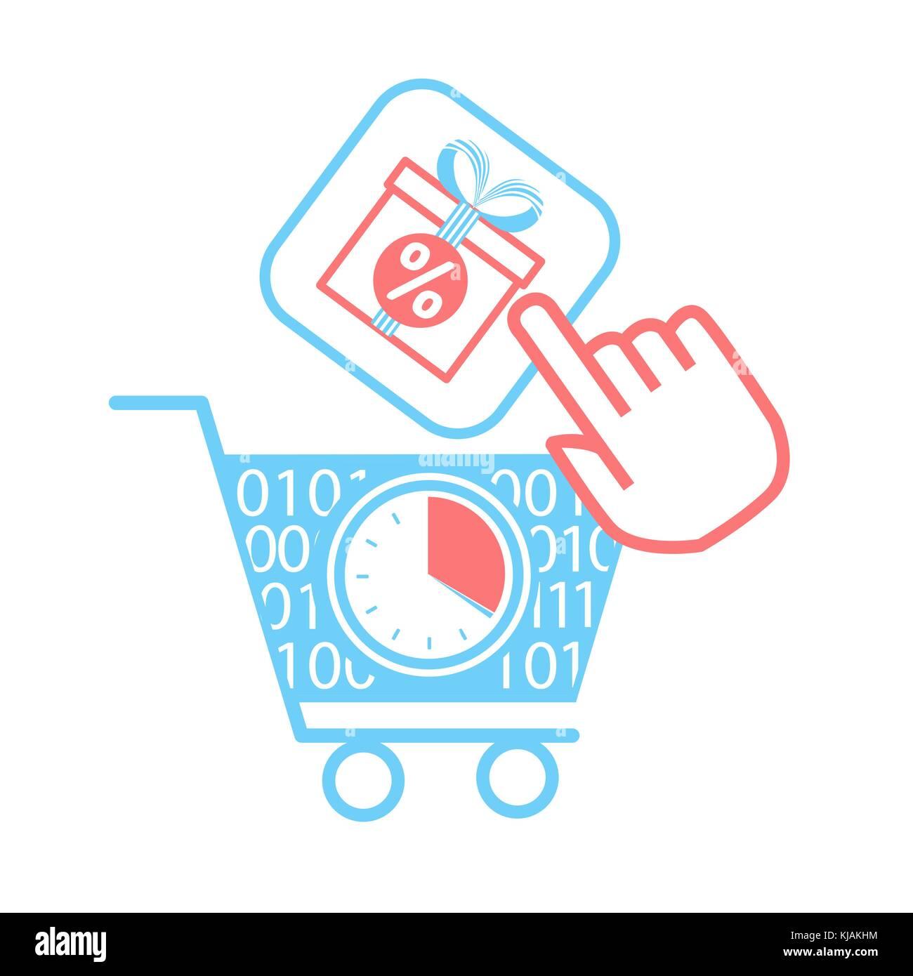 Purchasing carts stockfotos purchasing carts bilder for Verkauf von mobeln im internet