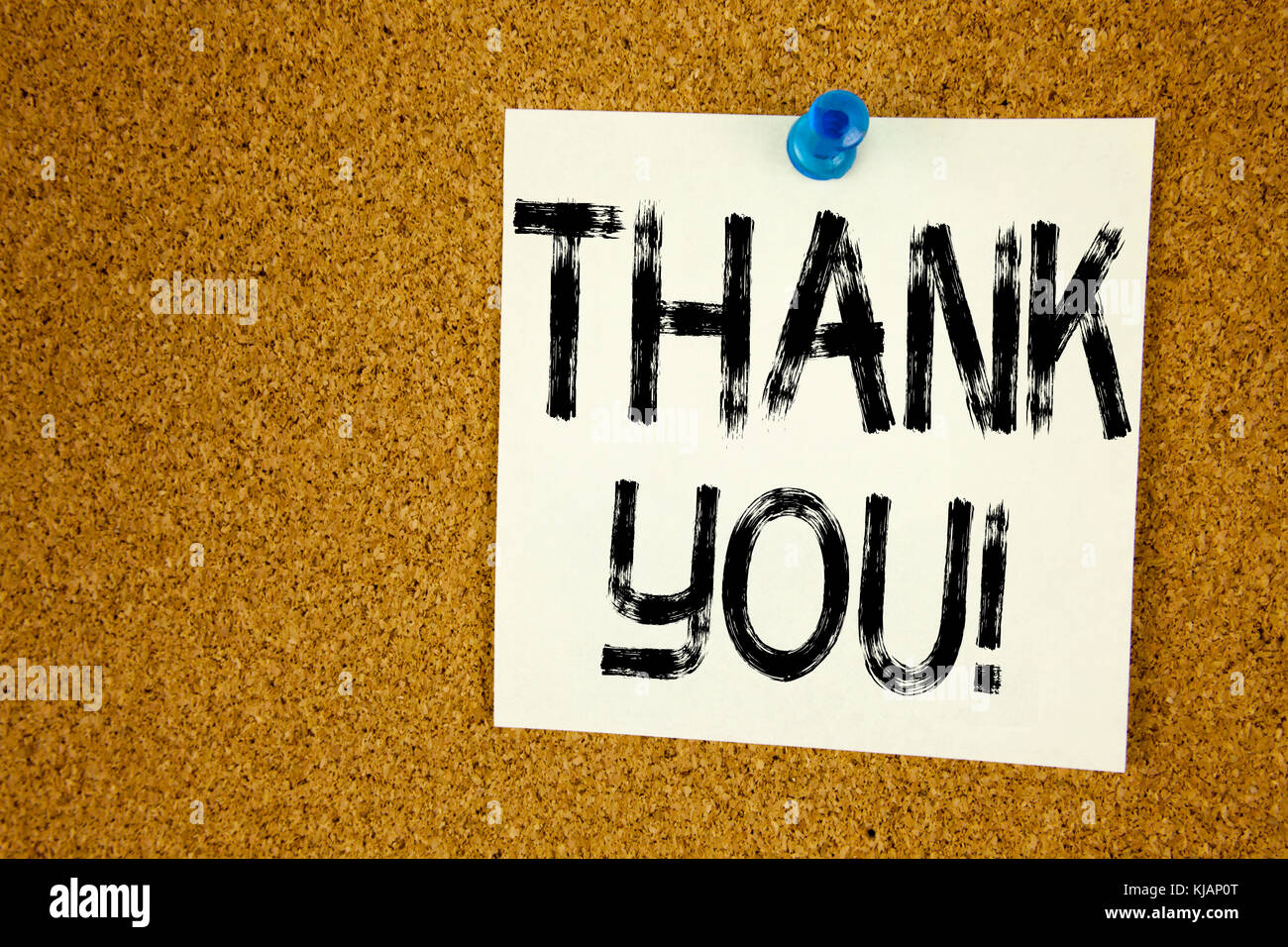 Konzeptionelle Hand schreiben Bildunterschrift Inspiration angezeigt. vielen Dank. Business Konzept für die Stockbild