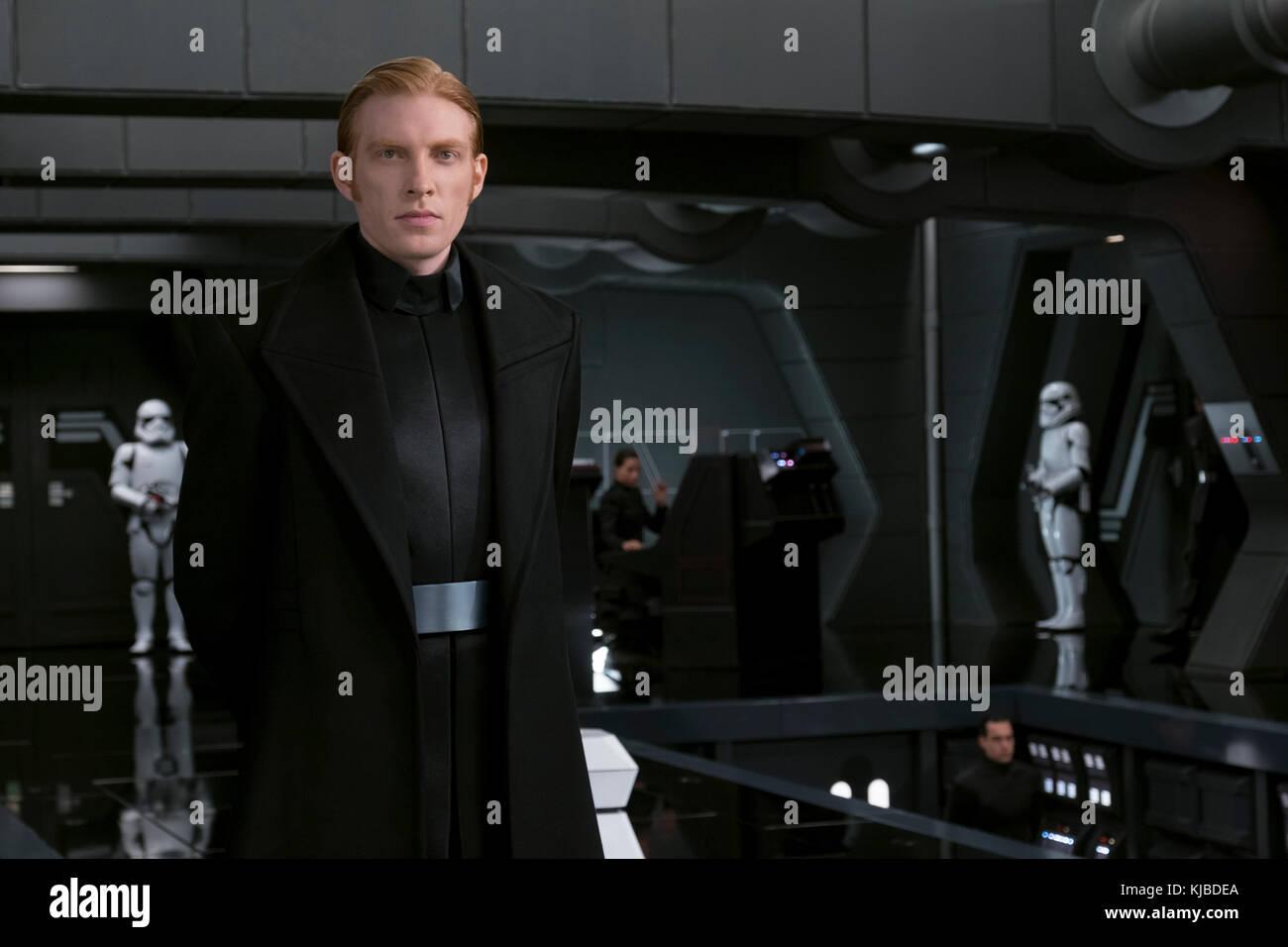 ERSCHEINUNGSDATUM: 15. Dezember 2017 TITEL: Star Wars: Das Letzte JEDI-STUDIO: LUCASFILM-REGISSEUR: Rian Johnson Stockfoto