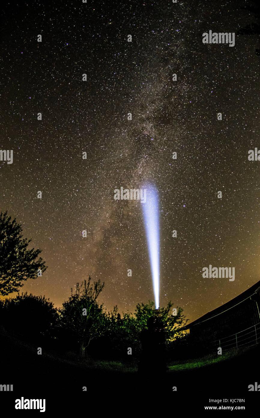 Sternenhimmel stockfotos sternenhimmel bilder alamy - Nasse fenster uber nacht ...