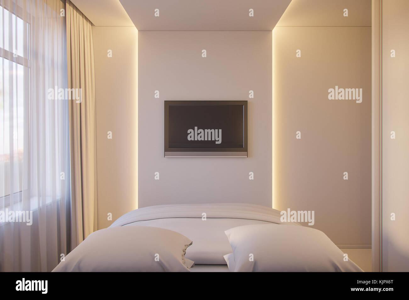 3d Darstellung Eines Interior Design Von Einem Weissen