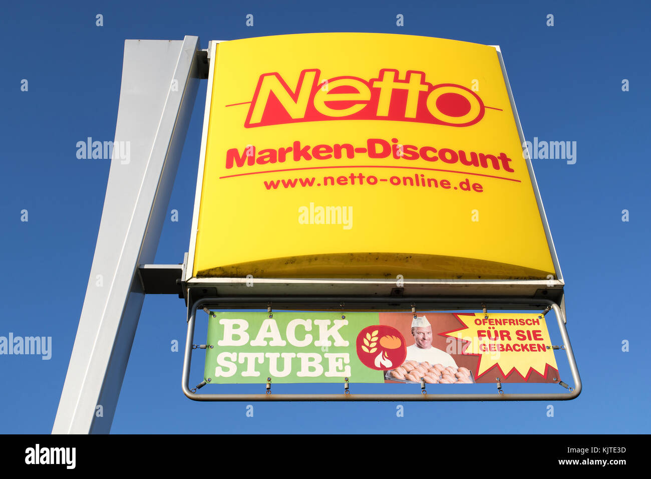 Netto Gelb Werbung