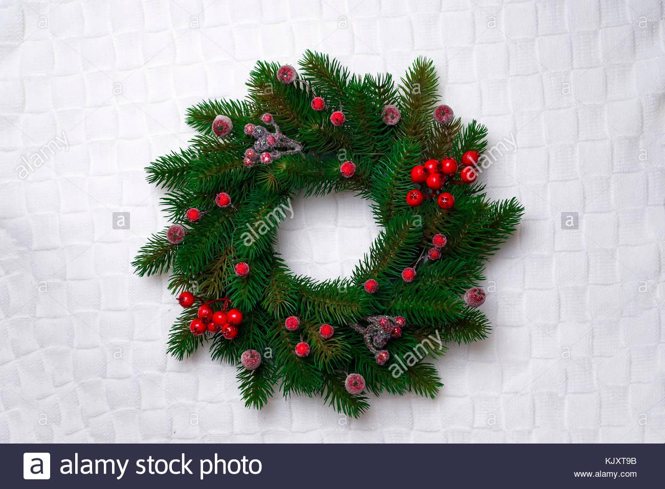 wreath hanging stockfotos wreath hanging bilder seite. Black Bedroom Furniture Sets. Home Design Ideas
