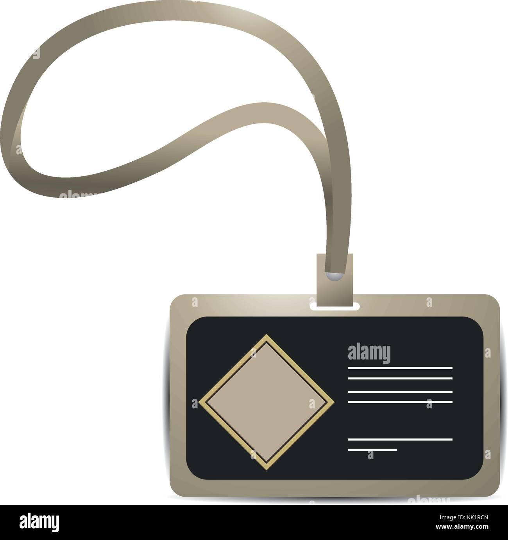Branding Personal Card Design Stockbild