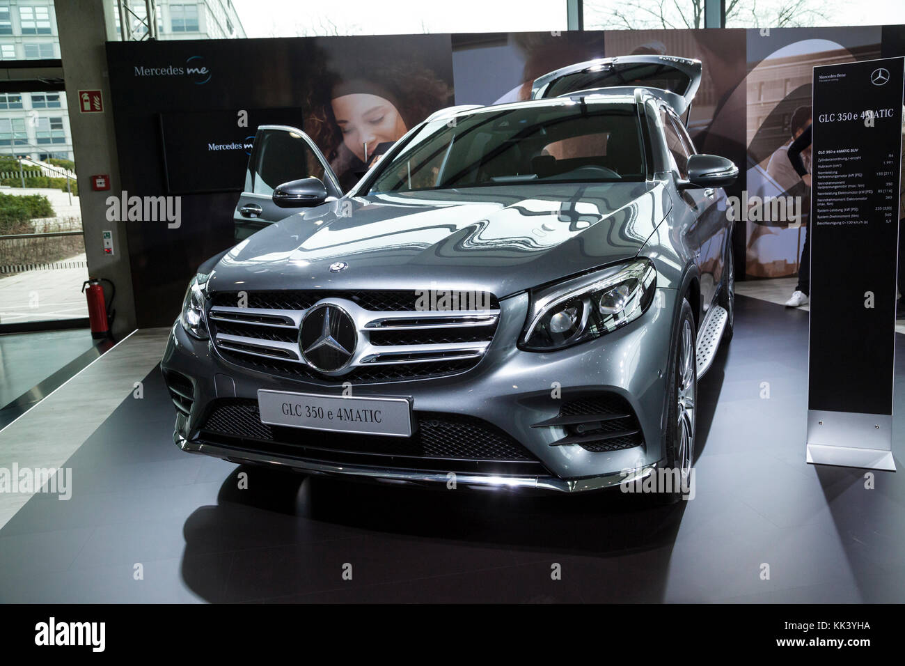 Mercedes Benz GLC 350 E 4MATIC Stockbild