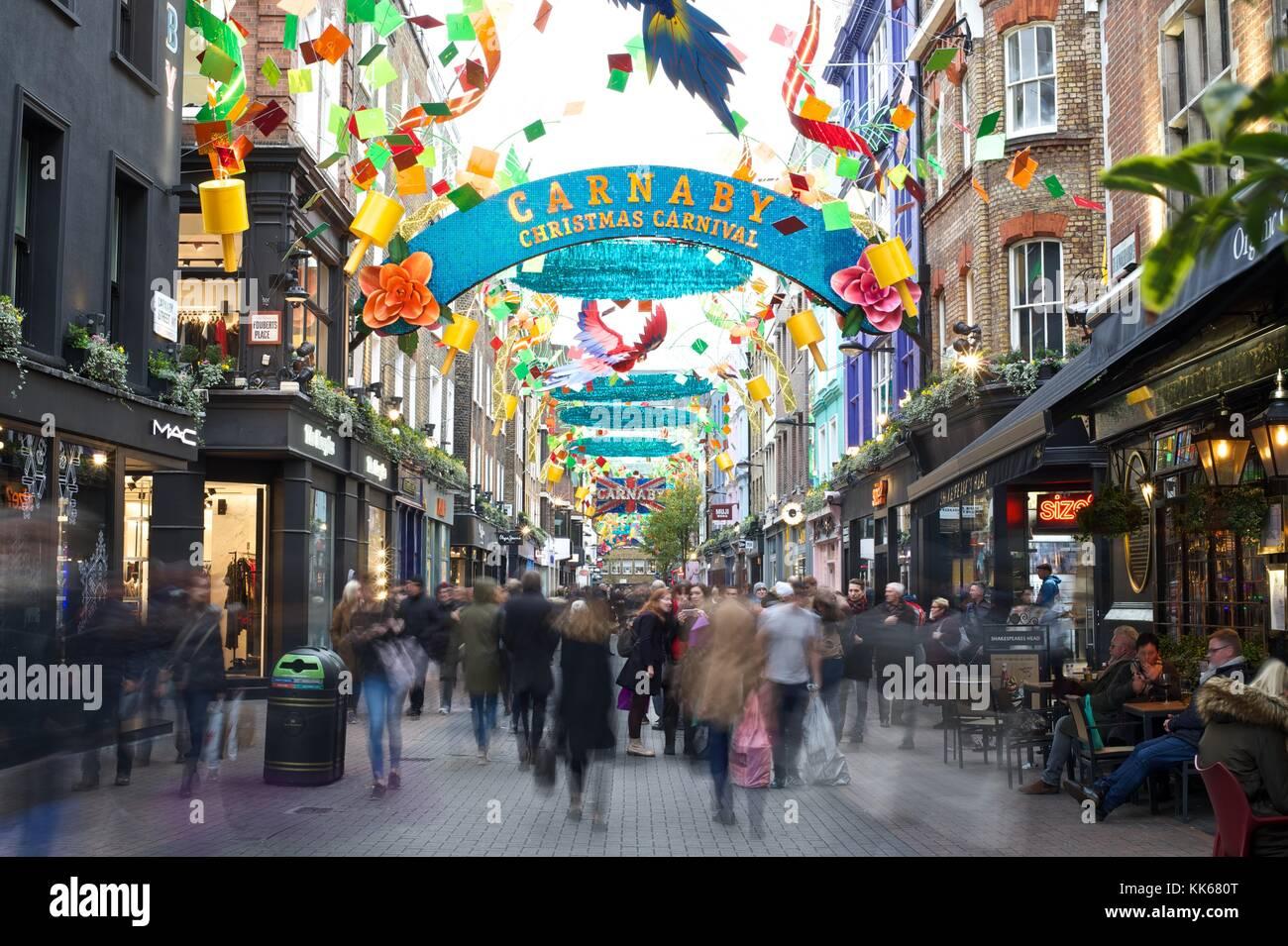 Carnaby Street Stockbild