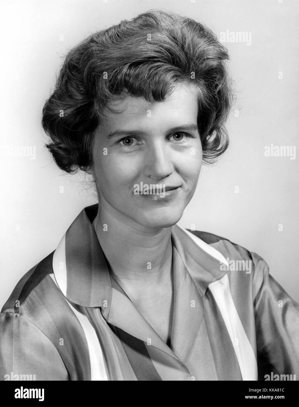 Maria von Braun, Ehefrau von Wernher von Braun Stockfoto