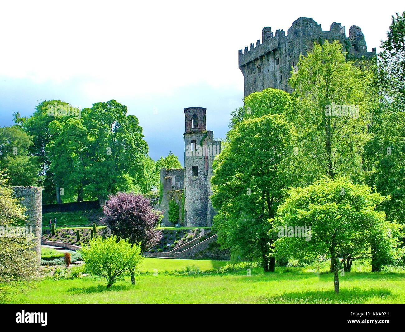 Blarney Castle in der Nähe von Cork, Irland Stockbild