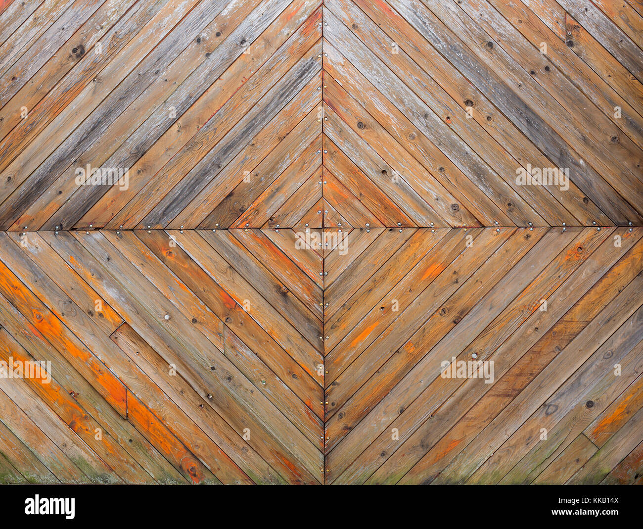 Helles Holz Hintergrund Orange Braun Und Grau Farben Grunge