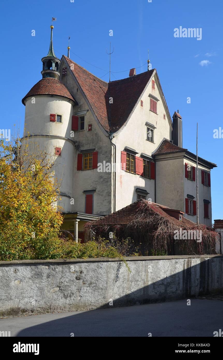 Appenzell (Schweiz): Das Schloss im Dorf Appenzell Stockbild