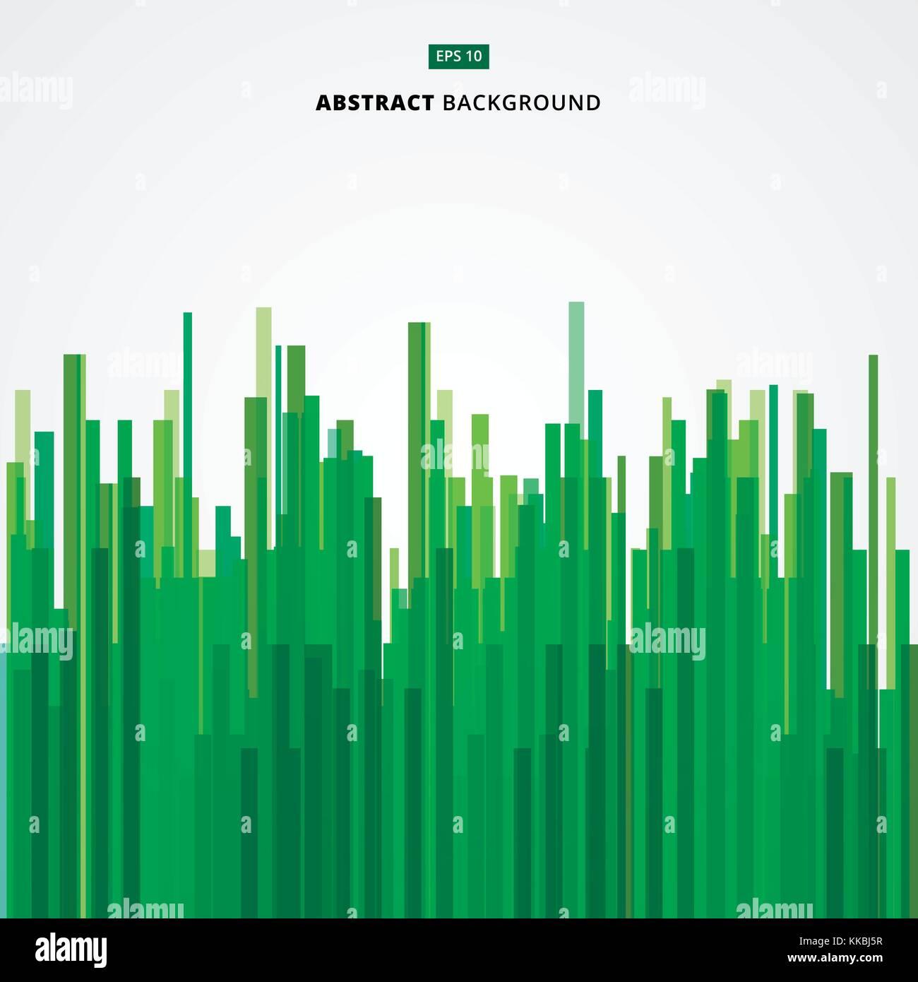 Abstraktes Bild Grun Gerade Linien Von Natur Wald Bambus Vektor