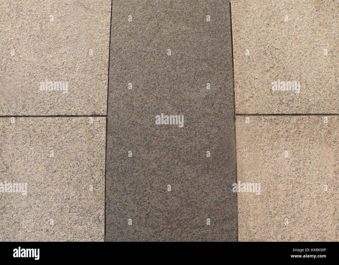 Nahaufnahme Von Grauen Stein Marmor Steine Am Boden Fur Strasse
