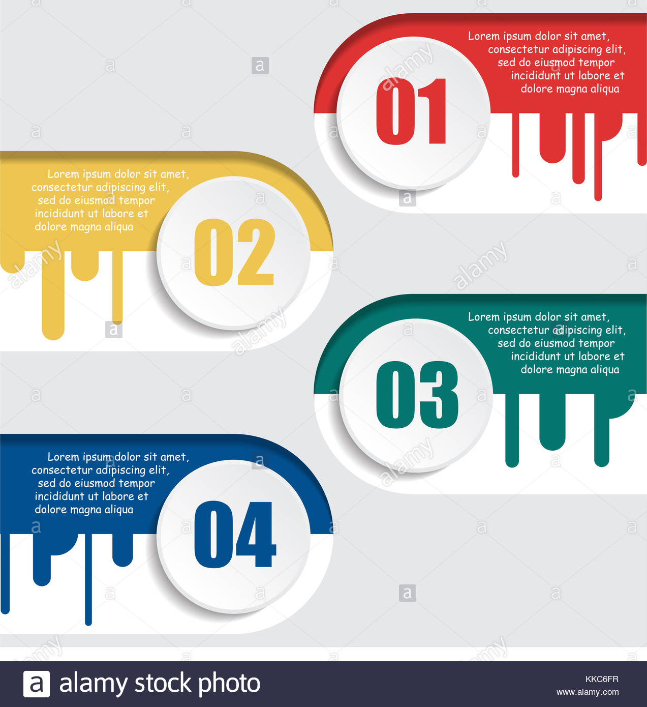 Business Circle Infographics Template Infographic Stockfotos ...
