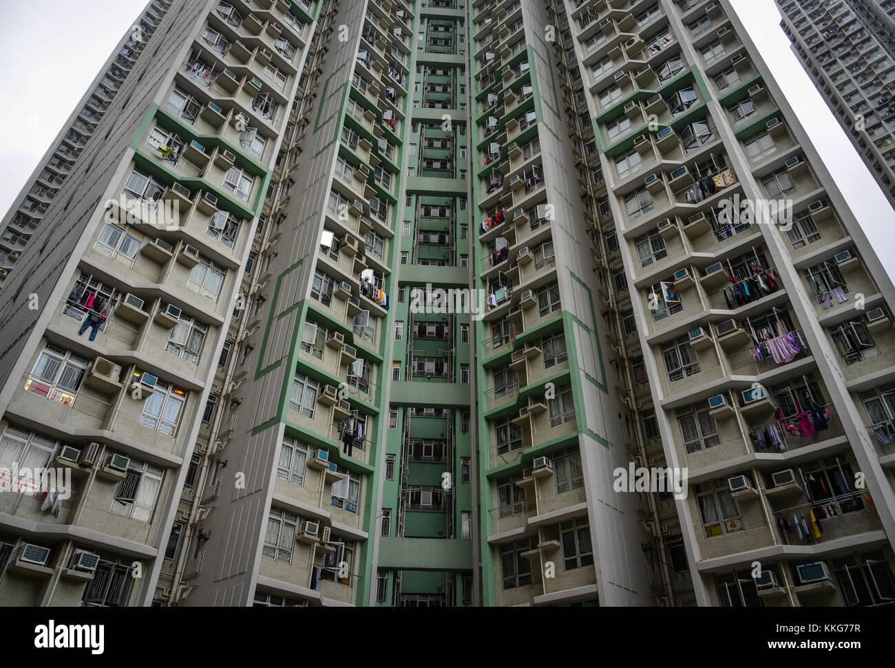 Urbanisation Hong Kong Stockfotos & Urbanisation Hong Kong Bilder ...
