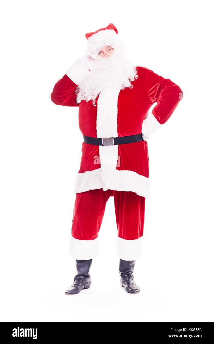 Real Santa Claus Stockbild