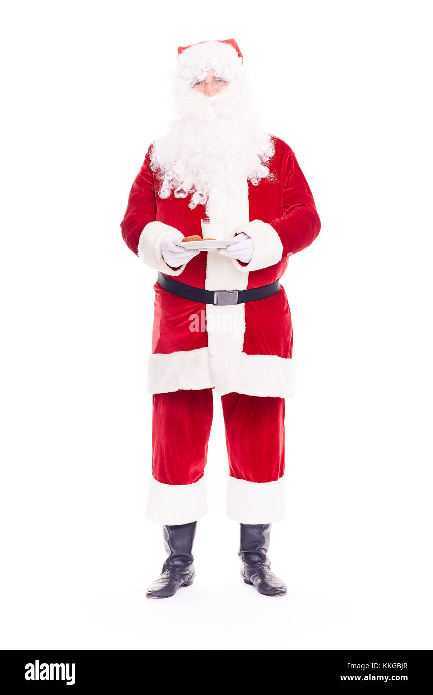 Real Santa Claus Stockfoto