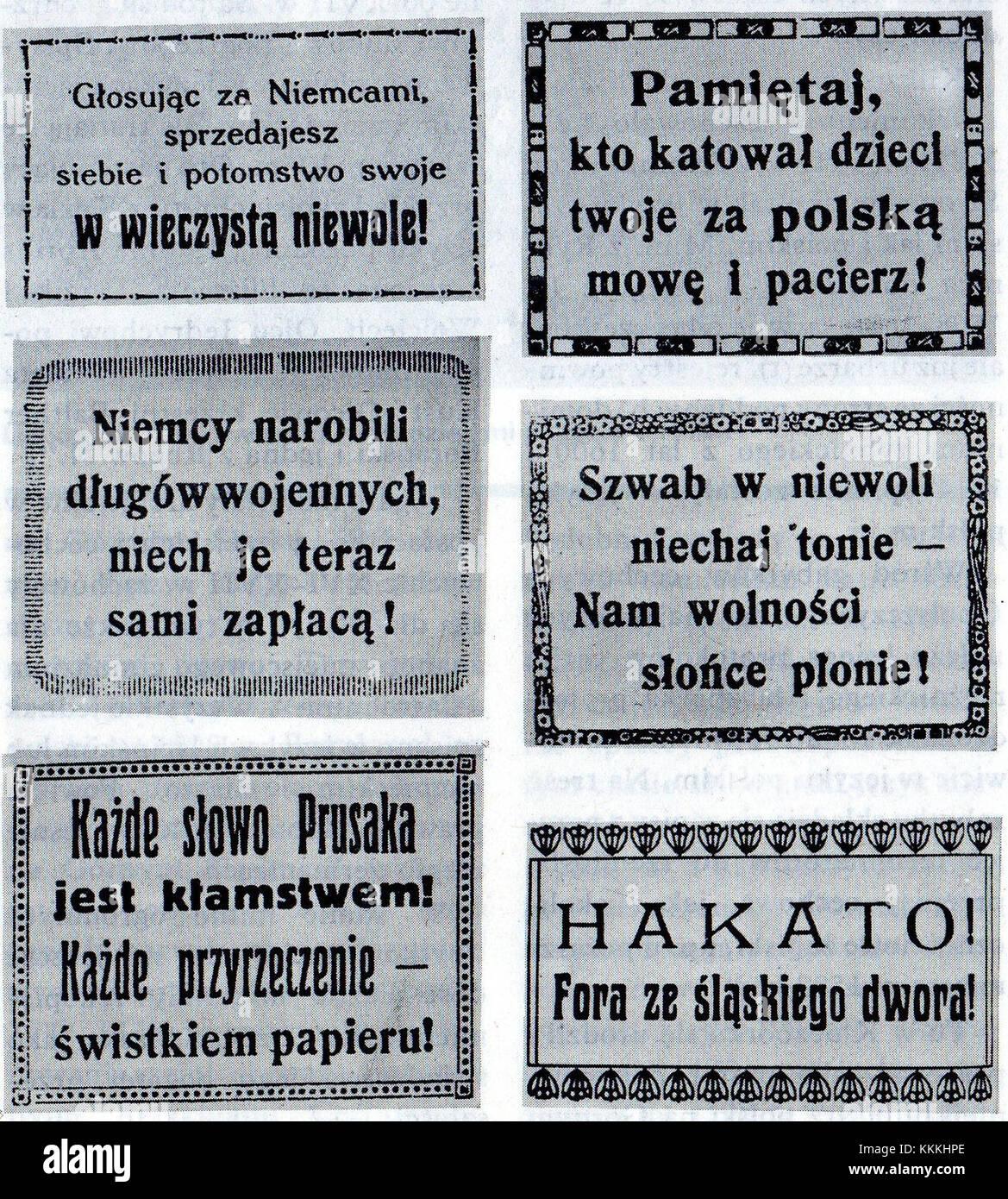 Das Plebiszit In Schlesien Lustige Anti Deutsche Gedichte