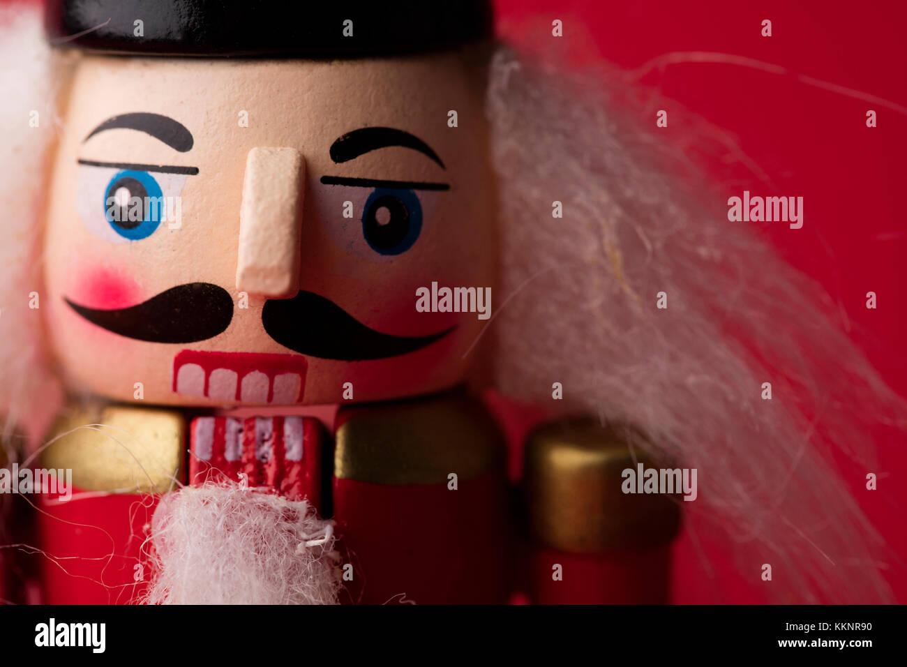 Festliche Weihnachten Nussknacker Soldat Spielzeug Stockfoto, Bild ...