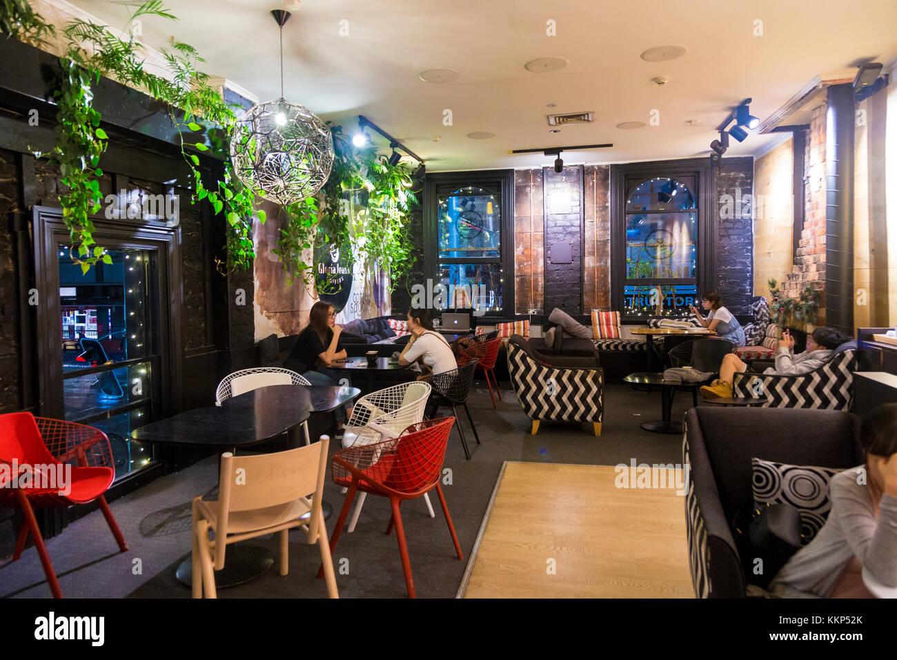 Einrichtung Eines Gemutlichen Eklektisch Cafe Auckland Neuseeland
