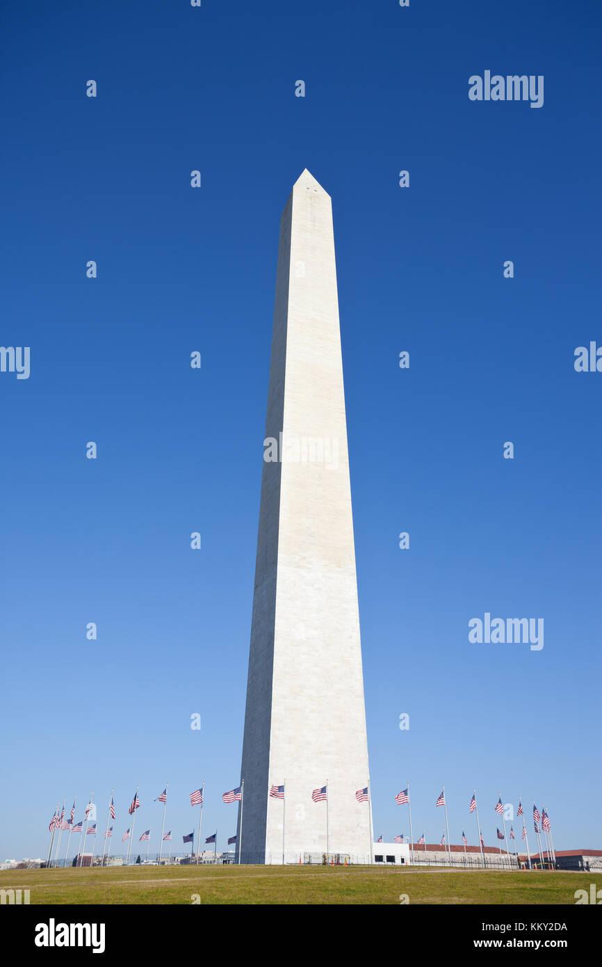 Washington Monumant - Vereinigte Staaten - USA Stockfoto