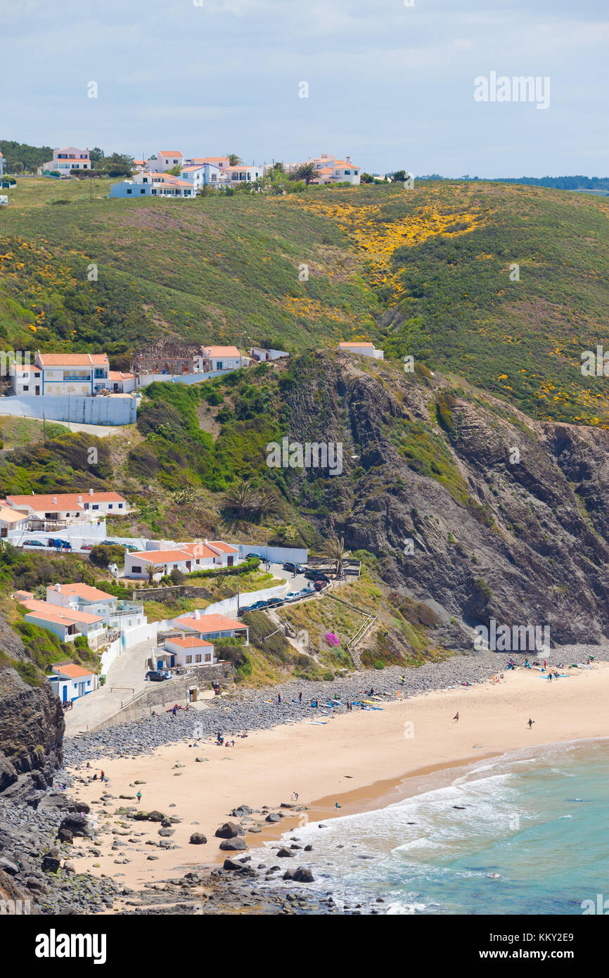 Portugal - Algarve - Praia da Arrifana - Europa Stockfoto