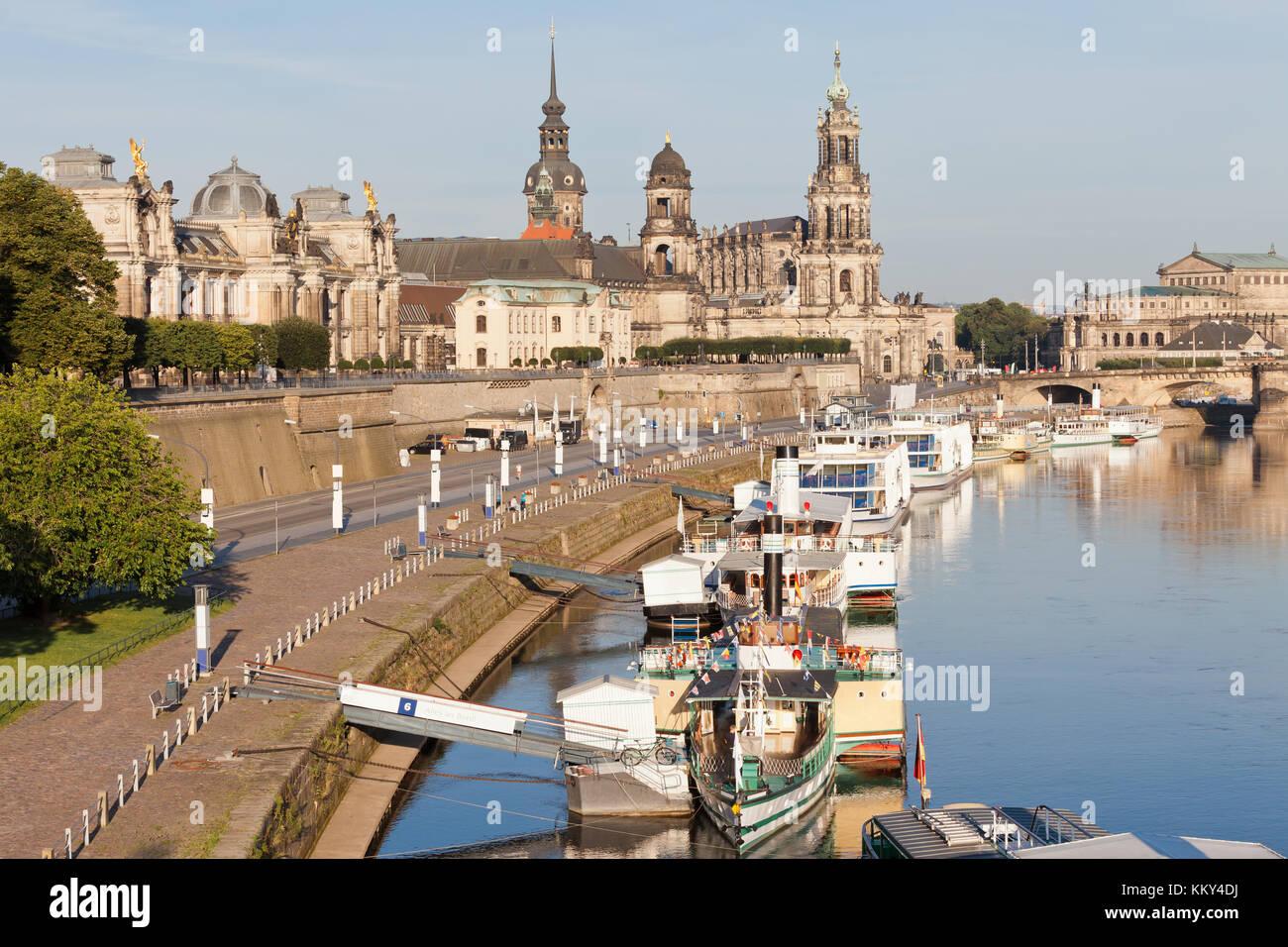 Dresden - Deutschland - Jettys, Europa Stockfoto