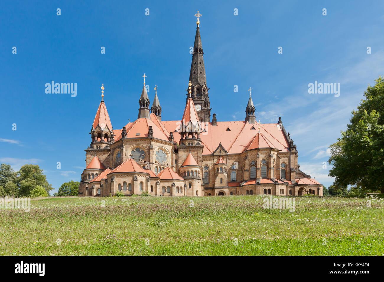 Dresden - Deutschland - Garnisonskirche, Europa Stockfoto