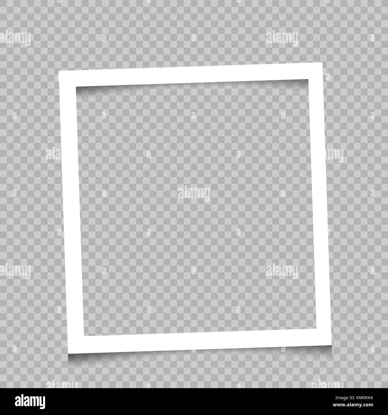 Quadratischen Rahmen transparenter Hintergrund Vektor Abbildung ...