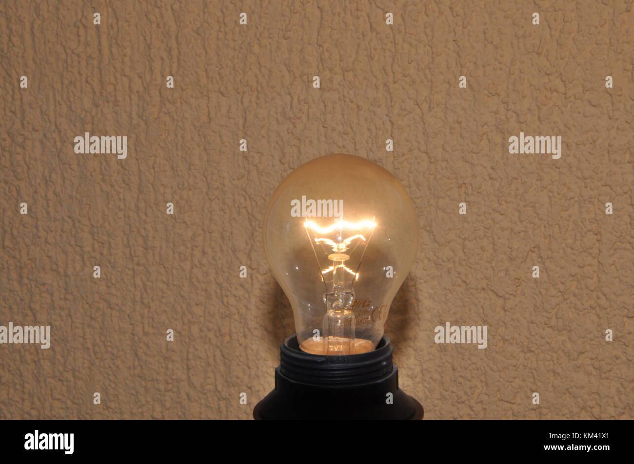 Licht als Quelle des Lebens Stockbild