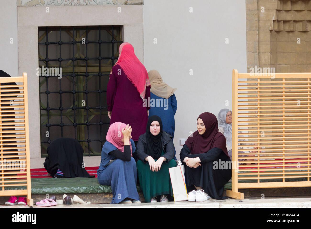 Bosnische muslimische Mädchenfotos