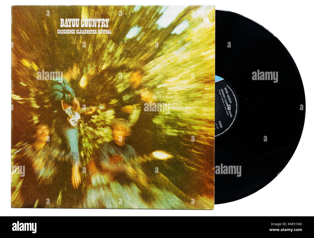 Creedence Clearwater Revival Bayou Country album Stockbild