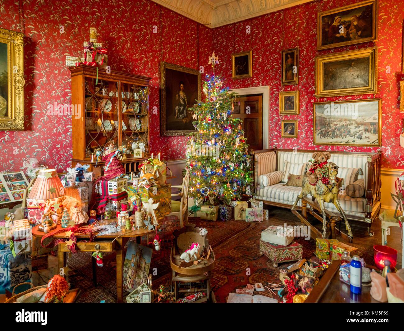 Castle Howard, UK. 5. Dezember, 2017. \