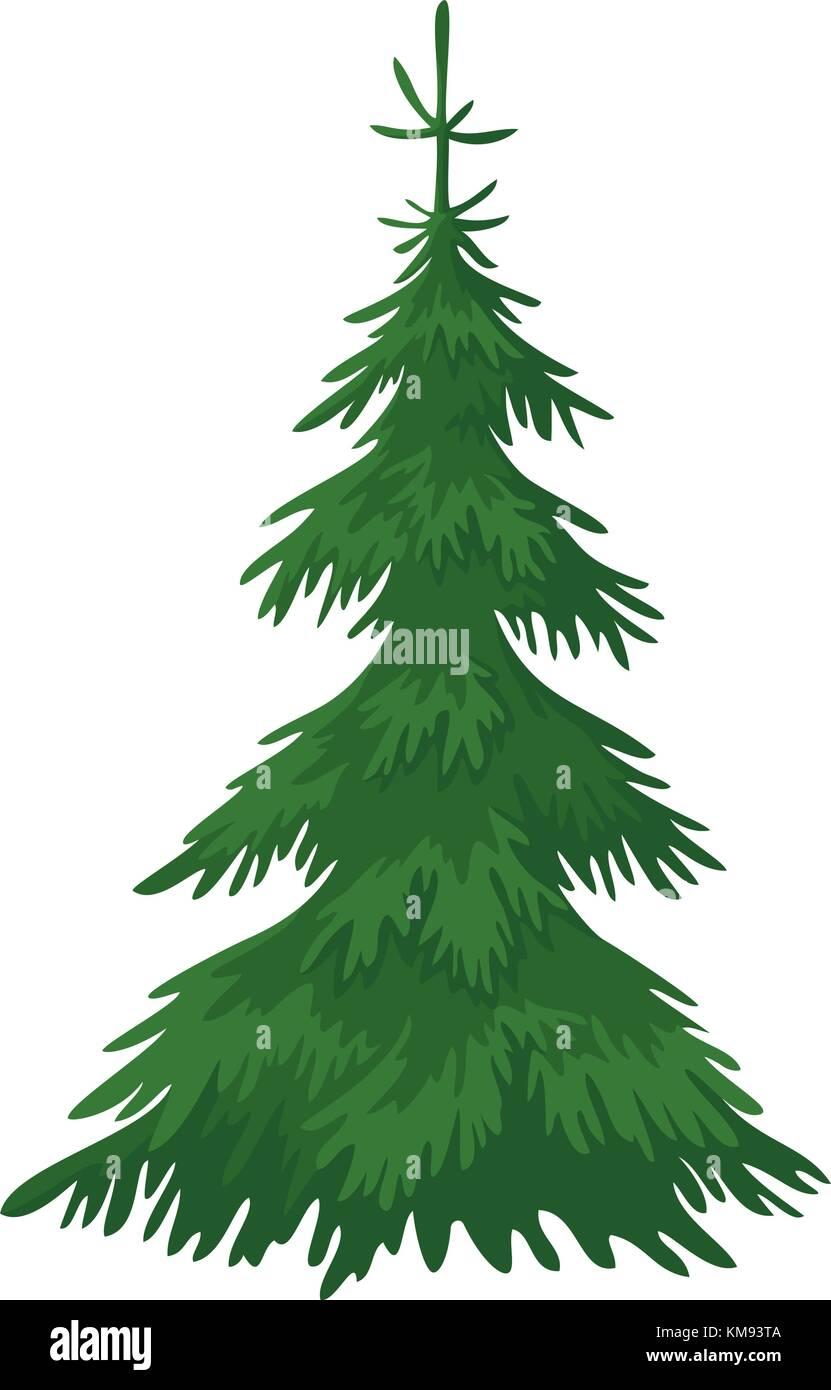 Wieso Tannenbaum Weihnachten.Weihnachten Tannenbaum Vektor Abbildung Bild 167387034 Alamy