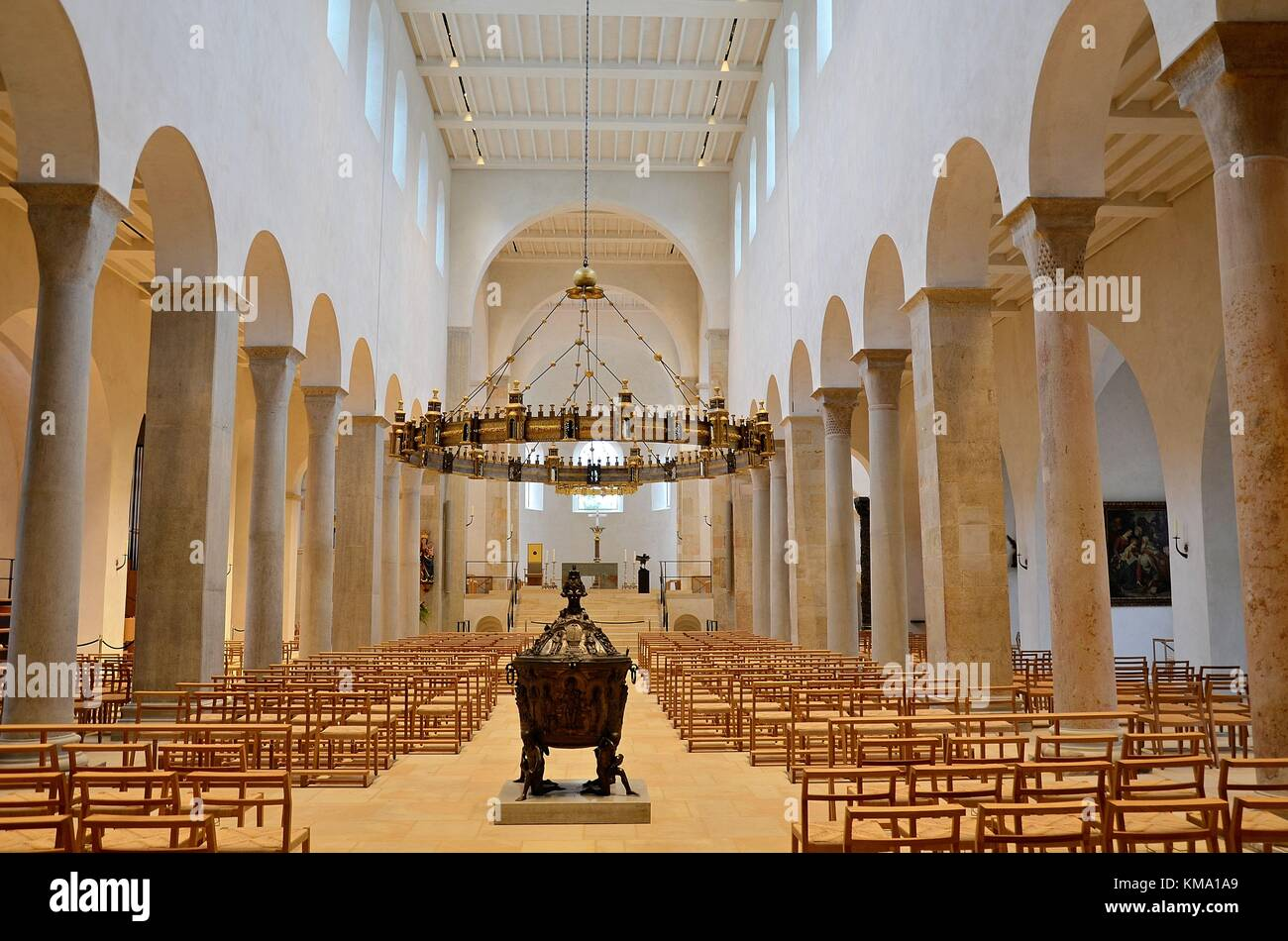Hildesheim (Niedersachsen, Deutschland): die Kathedrale t. Mariä Himmelfahrt' Stockbild