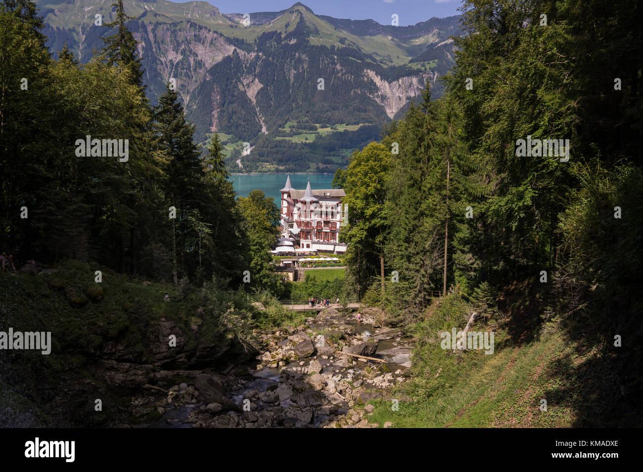 Grandhotel Giessbach, Schweiz Stockfoto