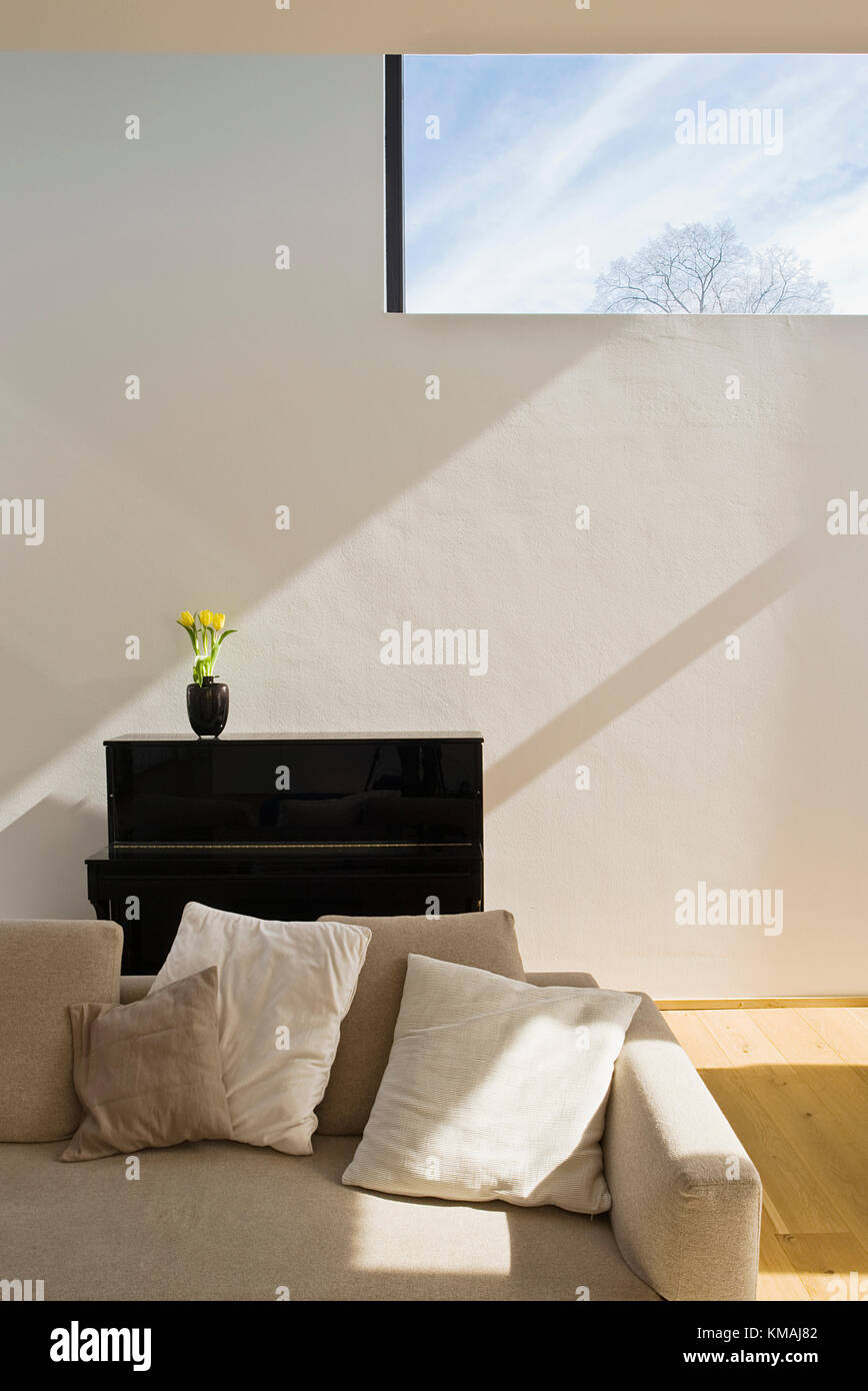 Haus, Familie, Hannover, Neubau, Design, moderne, Fenster, Detail ...