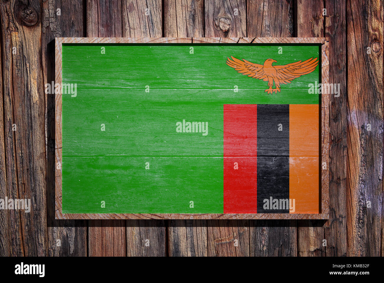 3d Rendering Zambia Flag On Stockfotos & 3d Rendering Zambia Flag On ...