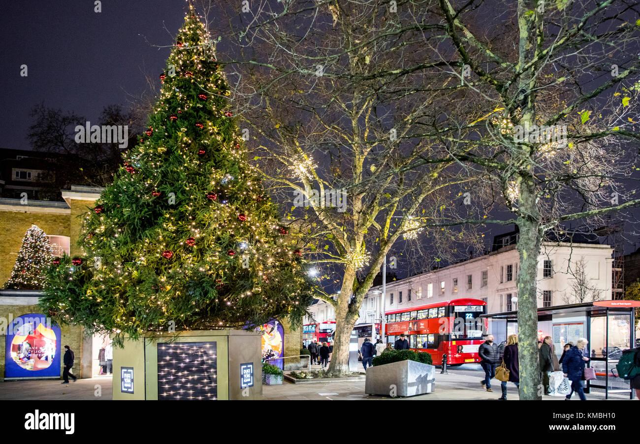 Weihnachtseinkaufer London Stockfotos Weihnachtseinkaufer London