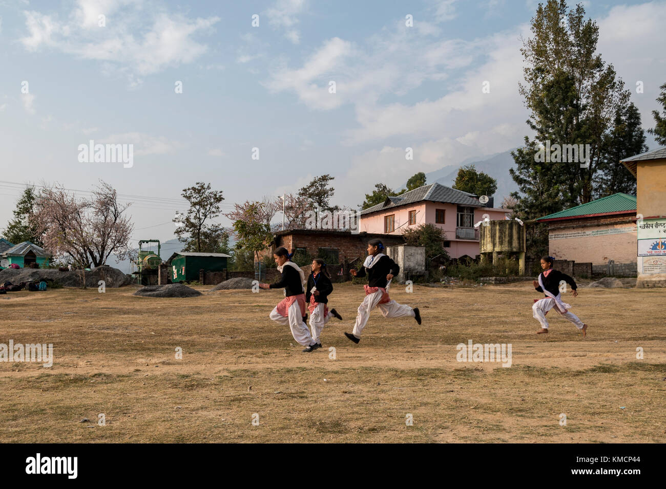 Junge Mädchen im Sport der Tag. Stockbild