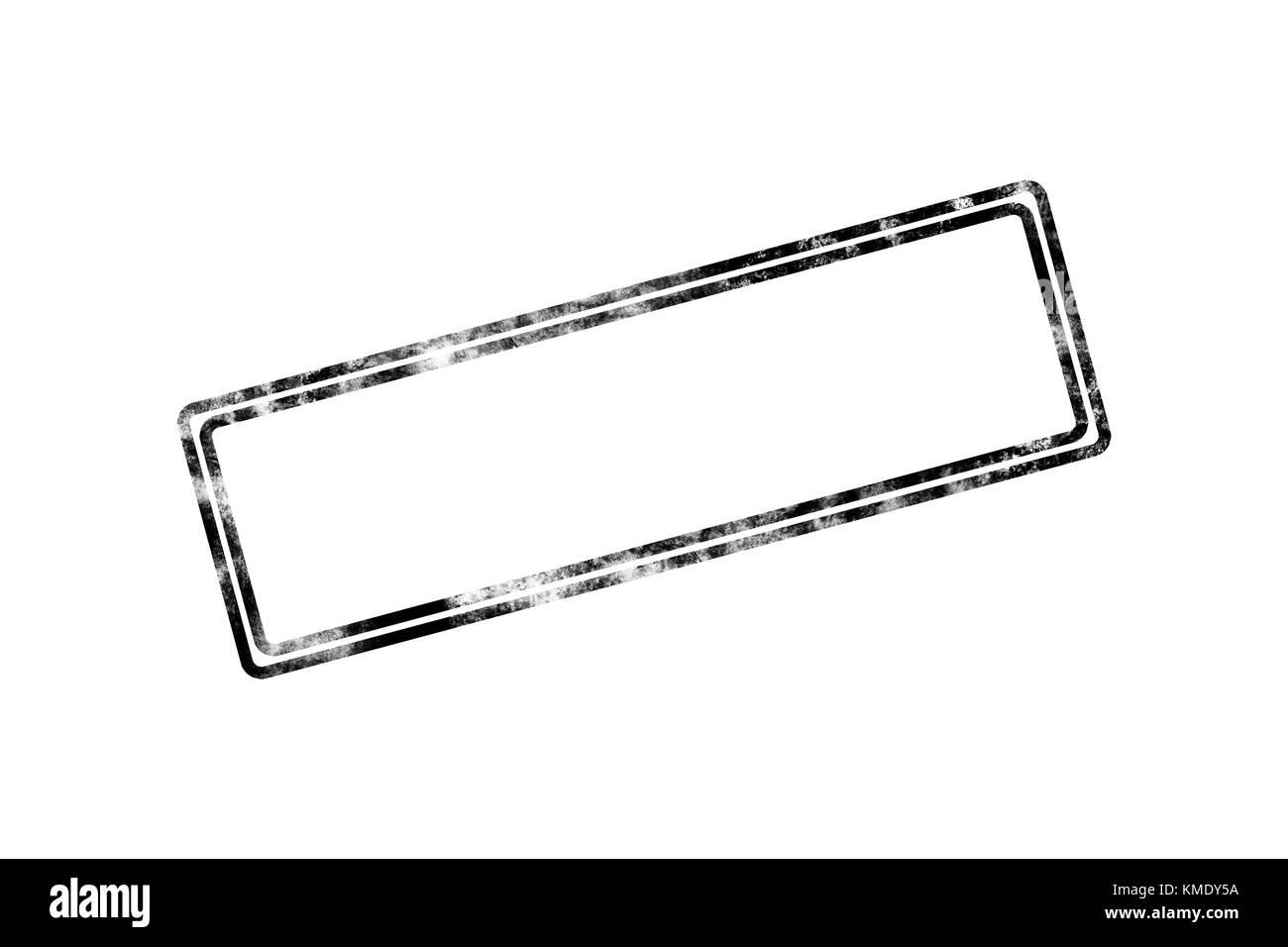 illustrative leer leer stempel mit schwarzer rahmen rand auf wei em hintergrund stockfoto bild. Black Bedroom Furniture Sets. Home Design Ideas
