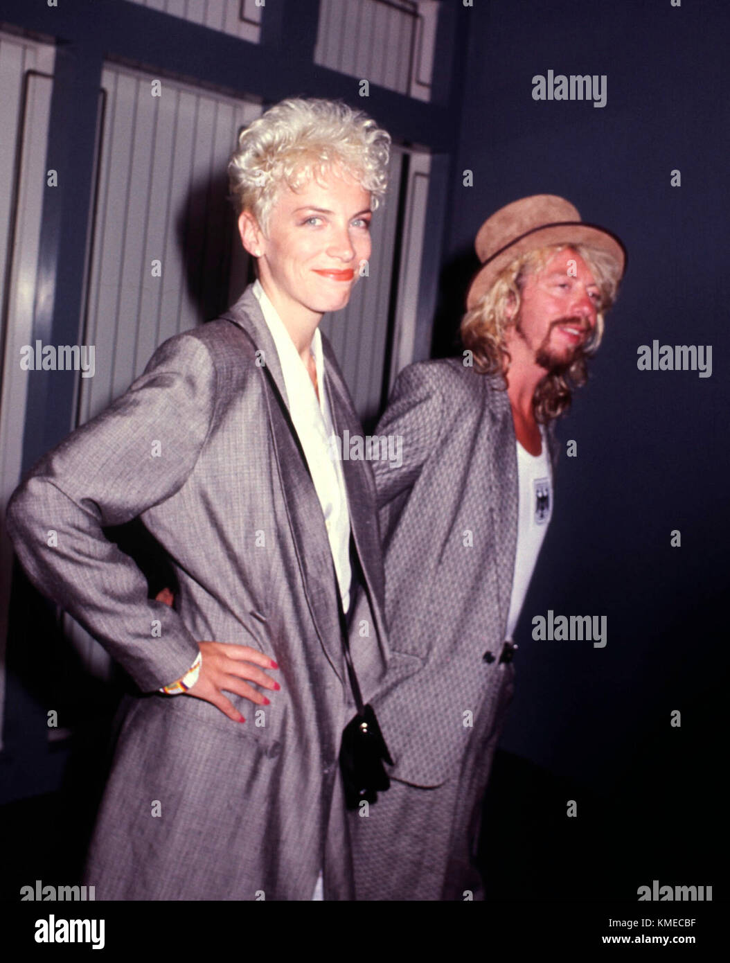 Annie Lennox And Dave Stewart Stockfotos & Annie Lennox And Dave ...