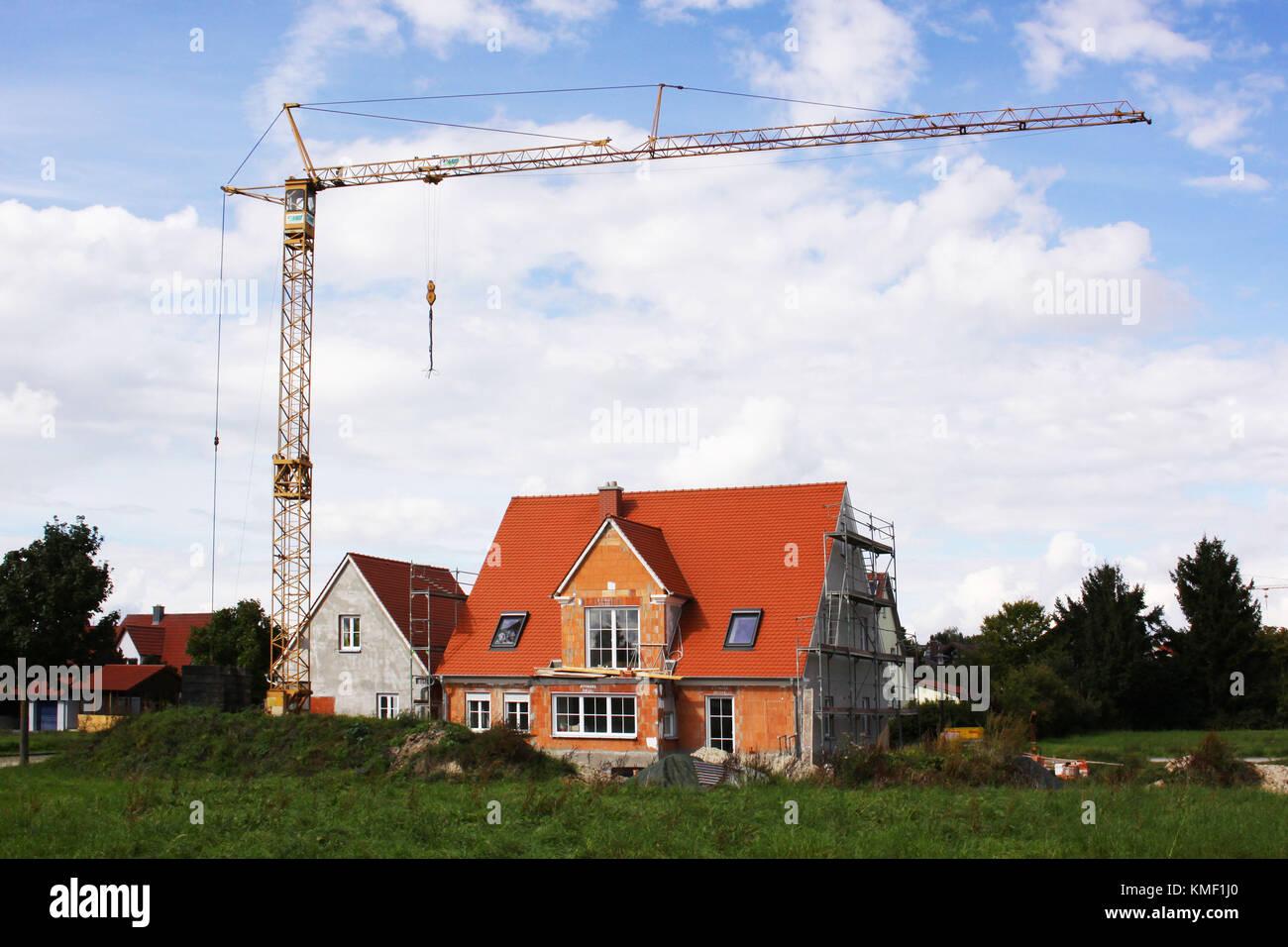 Wohnbau stockfotos wohnbau bilder alamy for Wohnhaus bauen