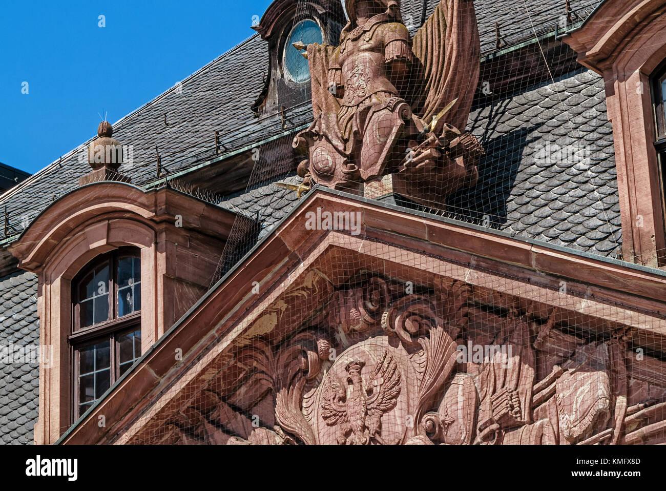 Frankfurt Deutschland 21 Juli 2017 Die Historische Café