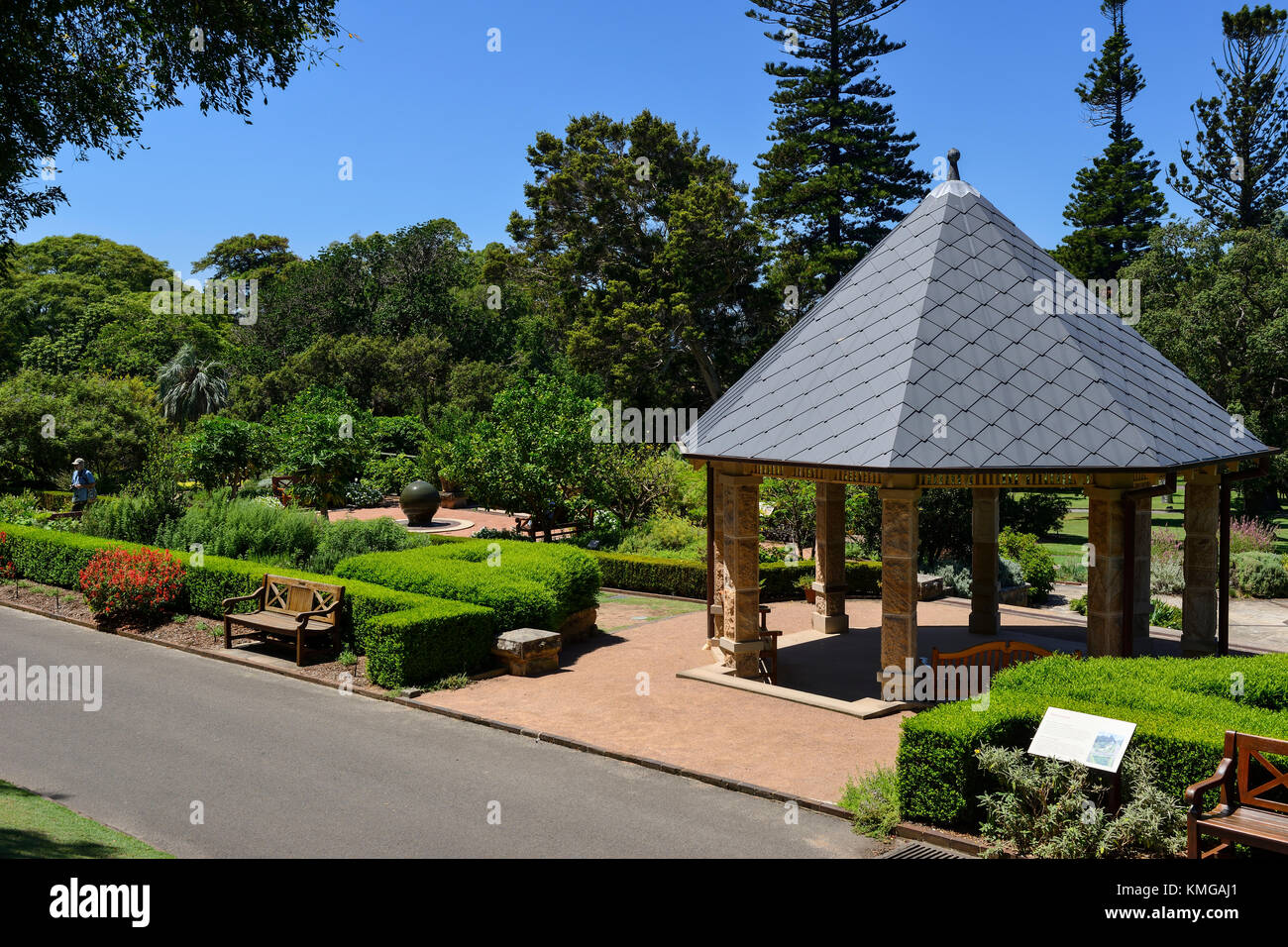 Pavilion australia stockfotos pavilion australia bilder - Botanischer garten shanghai ...