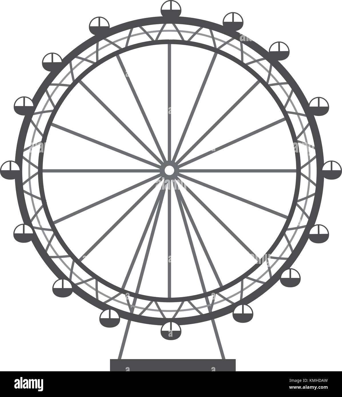 how to draw the london eye